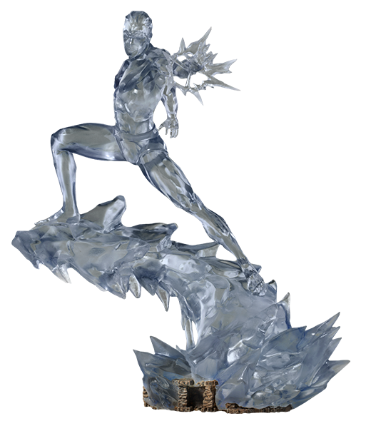 X-Men: Ice Man - Battle Diorama Statue