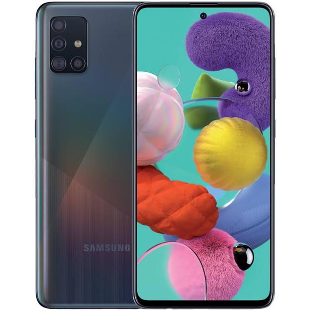 Samsung Galaxy A51 (128GB/8GB RAM) - Prism Crush Black