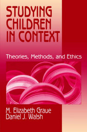 Studying Children in Context by M.Elizabeth Graue image