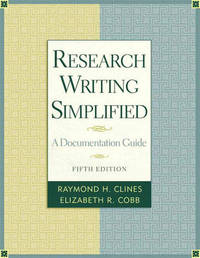 Research Writing Simplified: A Documentation Guide by Elizabeth Cobb image