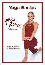 Yoga Zone - Yoga Basics for Beginners on DVD