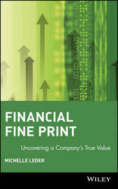 Financial Fine Print by Michelle Leder