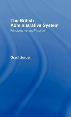 The British Administrative System by Grant Jordan image