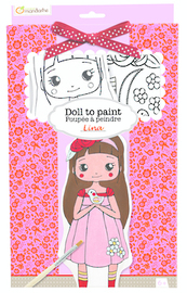 Doll to Paint - Lina