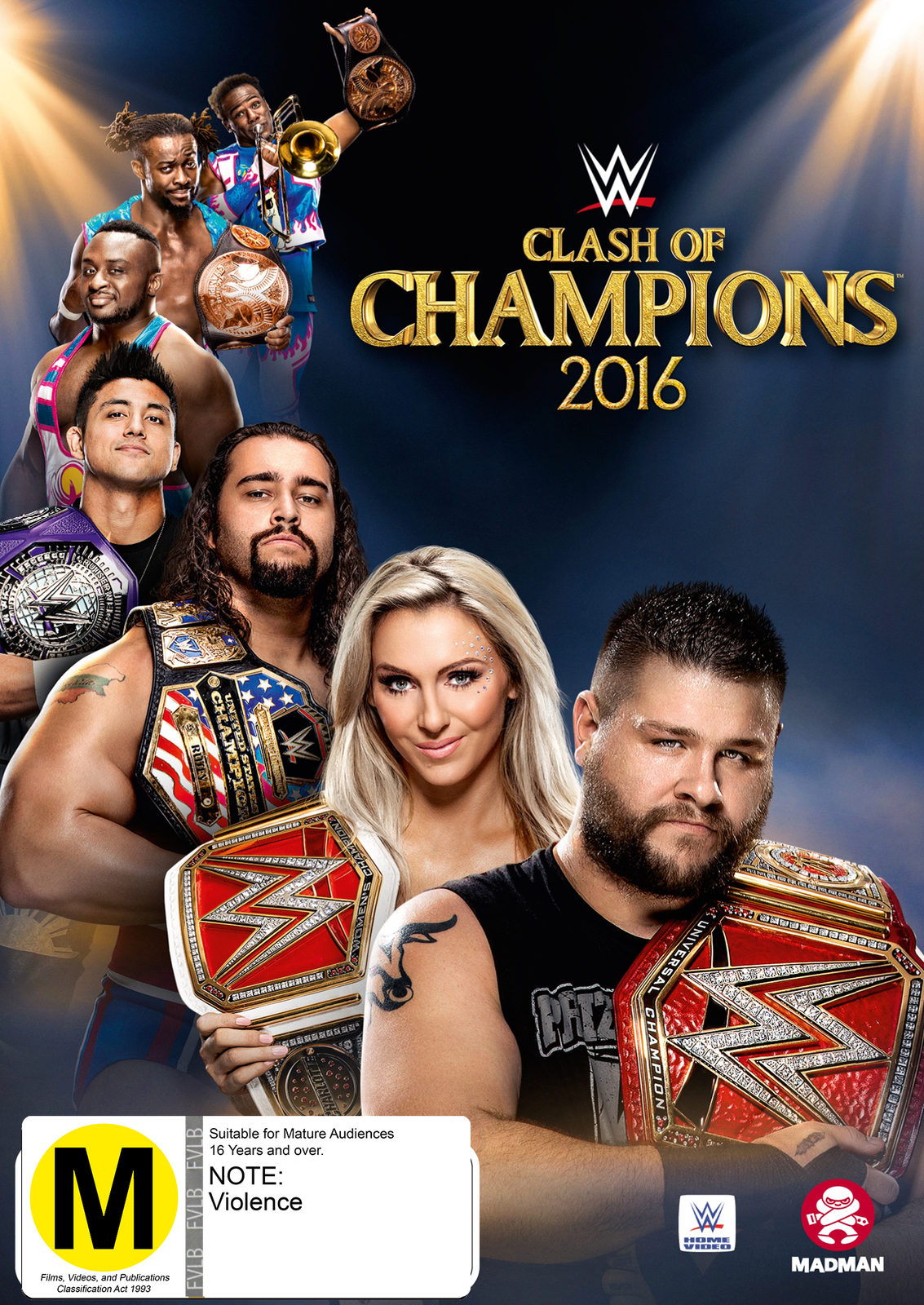 WWE: Clash Of Champions 2016 on DVD image