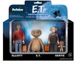 E.T. ReAction Action Figure - 3-Pack