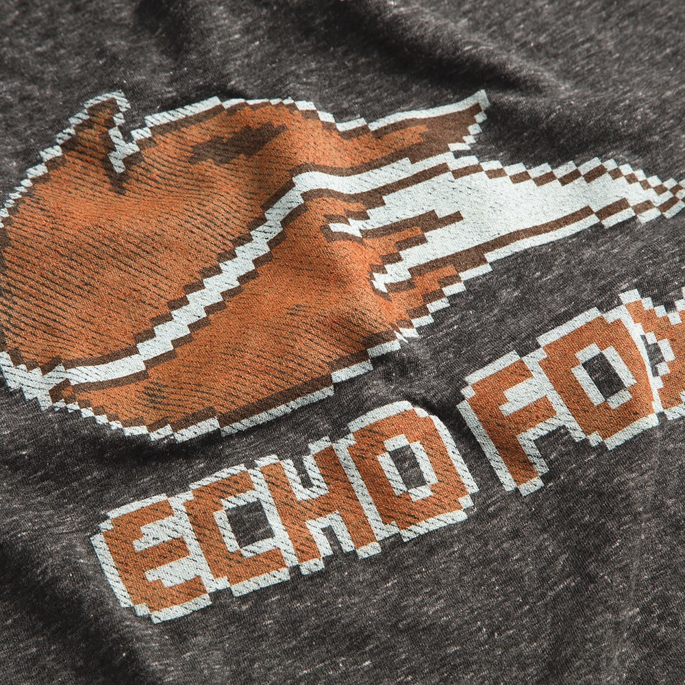Echo Fox Weathered 8 Bit Logo Premium Tee (XXX-Large) image