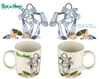 Rick and Morty Snowball Mug