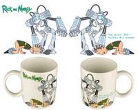 Rick and Morty Snowball Mug