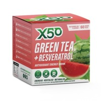 Green Tea X50 + Resveratrol - Watermelon (60 Sachets) image