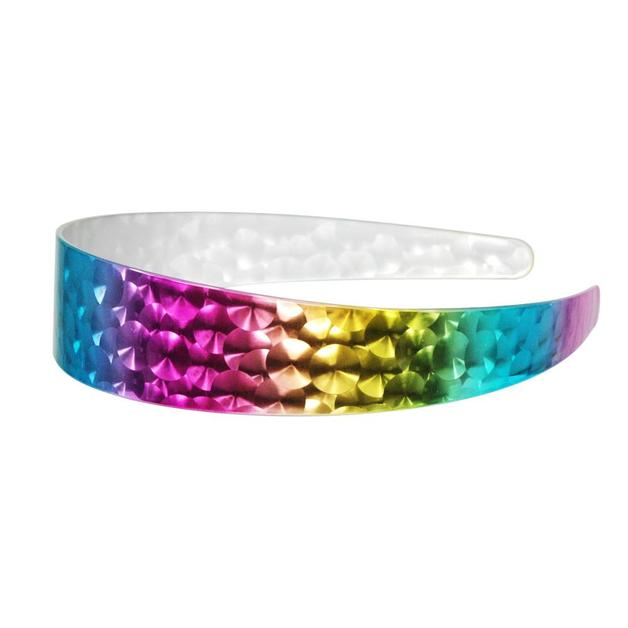 Pink Poppy: Metallic Rainbow - Laser Headband