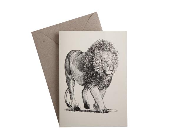 Marini Ferlazzo: Greeting Card - African Lion