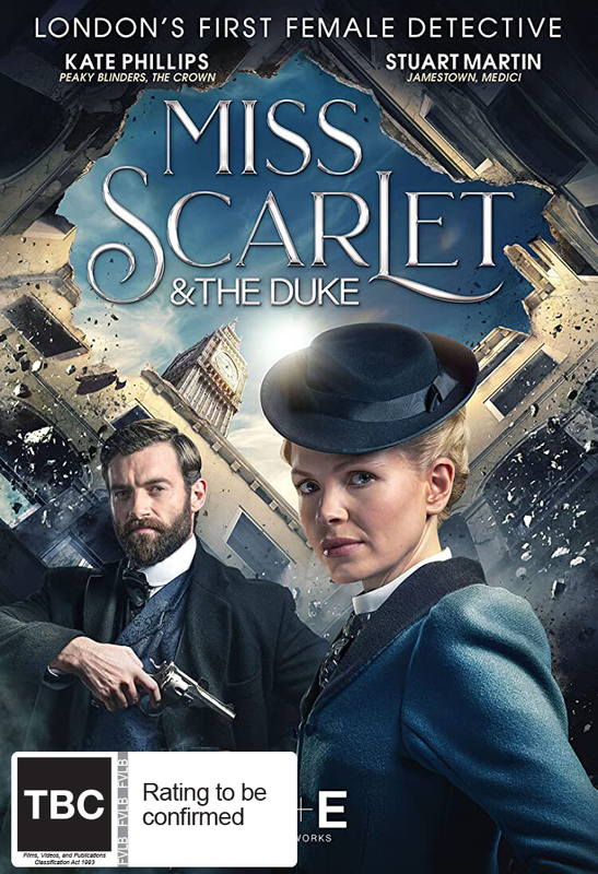 Miss Scarlet & The Duke on DVD