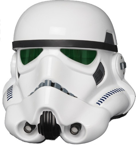 Star Wars Stormtrooper Life Size 'A New Hope' Helmet image