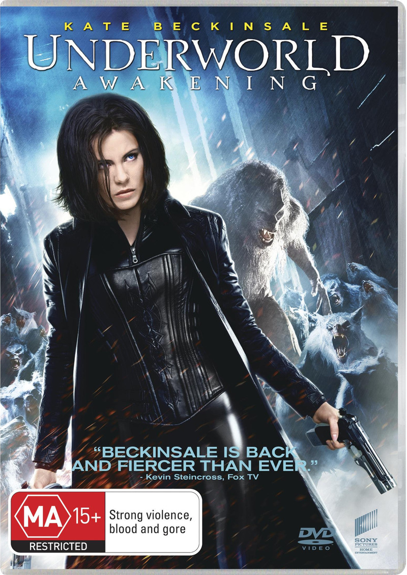Underworld: Awakening on DVD image