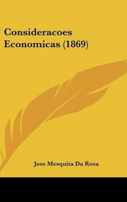 Consideracoes Economicas (1869) by Jose Mesquita da Rosa image