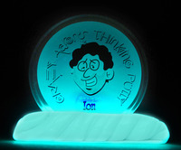 Crazy Aarons Thinking Putty Glow in the Dark - Ion