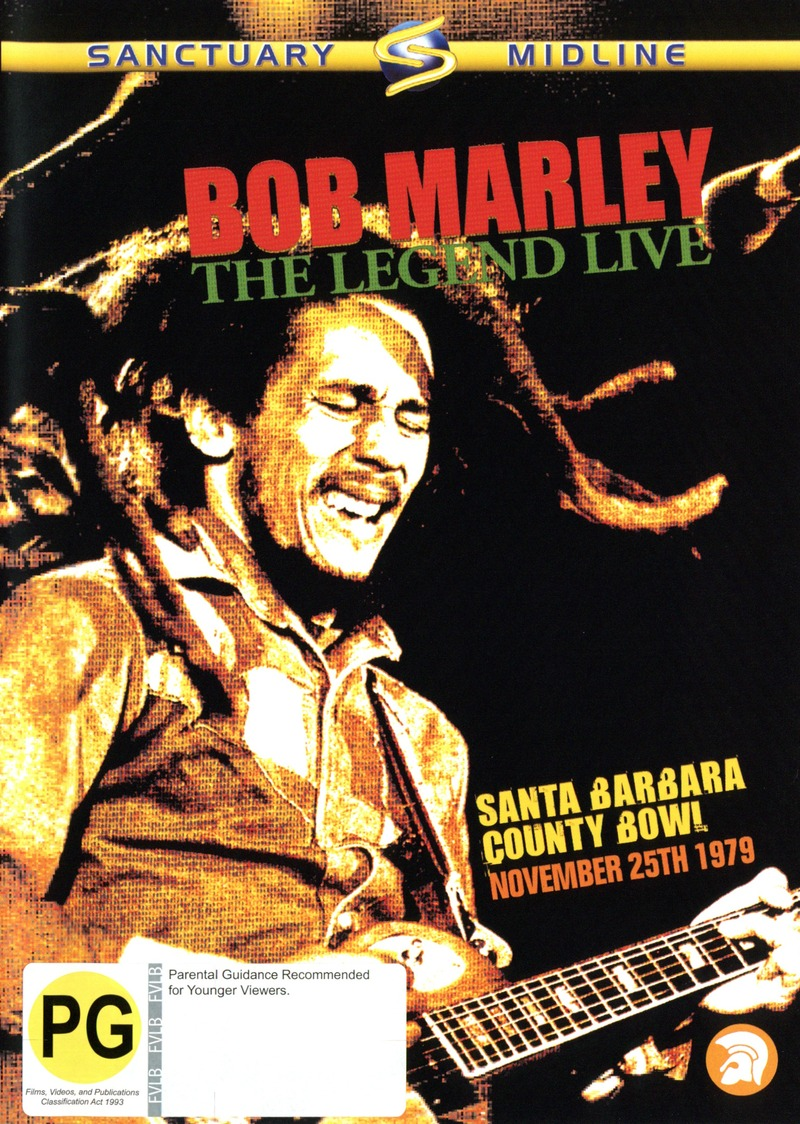 Bob Marley - The Legend: Live on DVD image