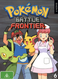 Pokemon - Season 9: Battle Frontier on DVD