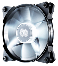 120mm Cooler Master JetFlo Case Fan - White LED