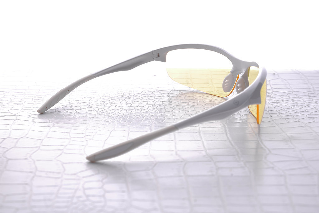 NoScope Wraith Computer Gaming Glasses - Frost White for PC Games image