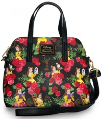 Loungefly Disney Beauty And The Beast Floral Bag