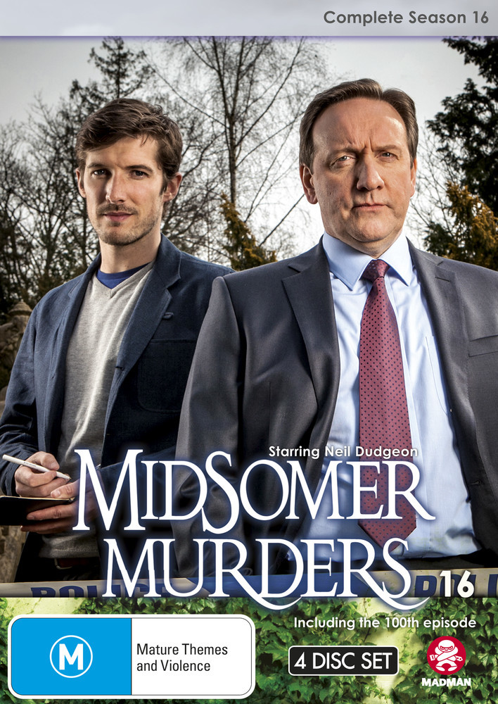 Midsomer Murders - Complete Season 16 on DVD image