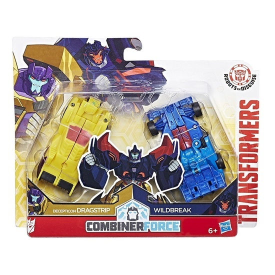 Transformers: Robots In Disguise Crash Combiners - Dragbreak image
