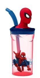 Spiderman 3D Figurine Tumbler image