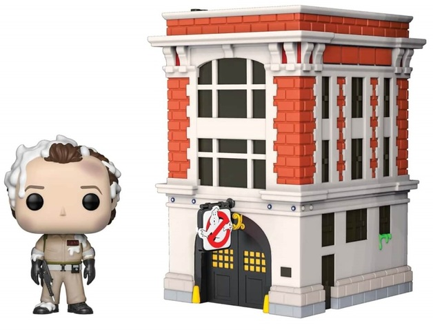 Ghostbusters: Peter Venkman & Firehouse - Pop! Town Diorama Set