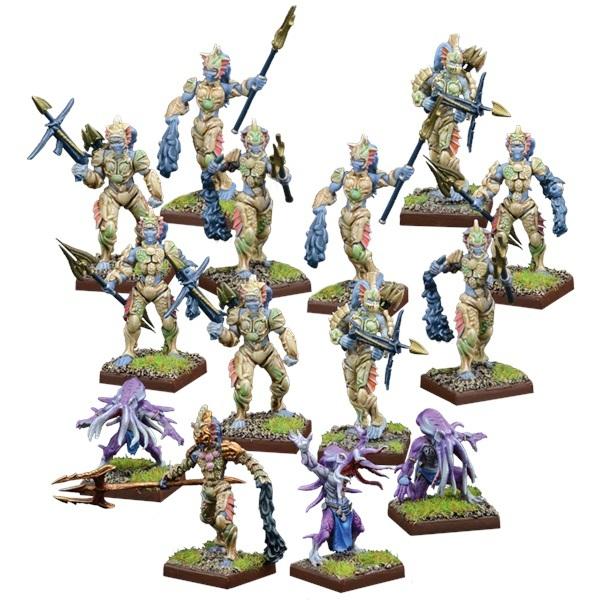 Kings of War Vanguard: Trident Realm Warband Set