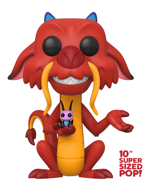 "Disney's Mulan: Mushu - 10"" Super Sized Pop! Vinyl Figure"