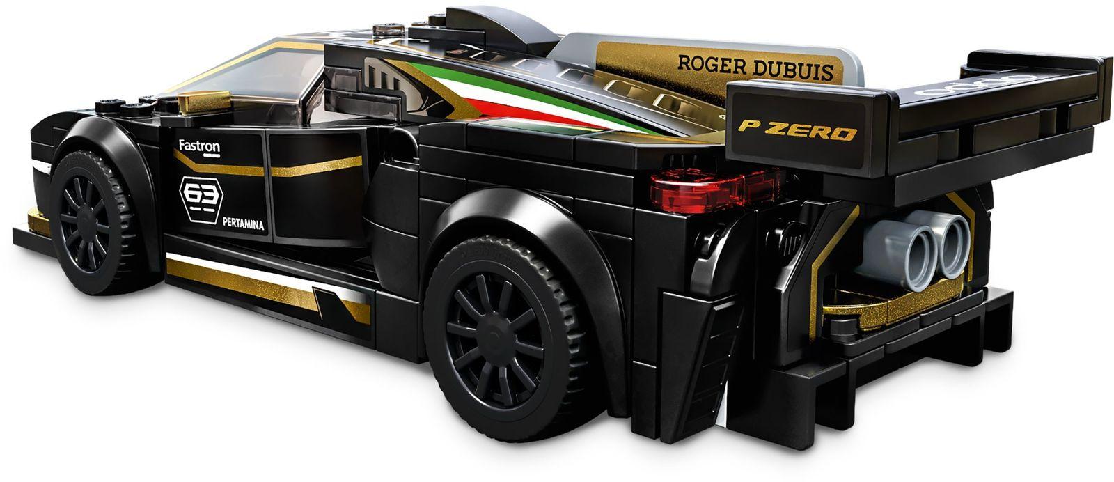 LEGO: Speed Champions - Lamborghini Urus ST-X & Lamborghini Huracán Super Trofeo EVO image