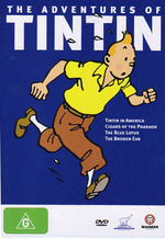 Adventures Of Tintin - Vol 1 on DVD