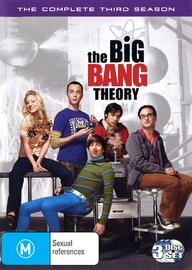 The Big Bang Theory - Complete 3rd Season on DVD