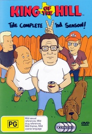 King Of The Hill - Complete Season 2 (4 Disc) on DVD image