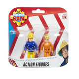 Fireman Sam Figure Pack - Normal Sam & Tom