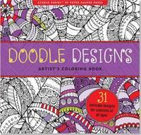 Doodle Designs Artist's Coloring Book (Studio Series)