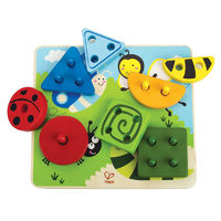 Hape: Build A Bug Sorting Puzzle image