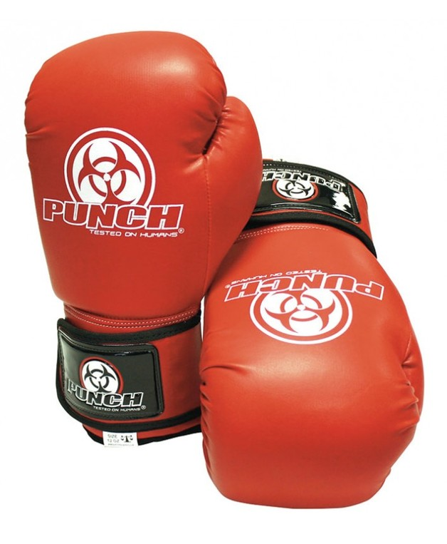 Punch: Urban Boxing Gloves - 10.oz (Red)