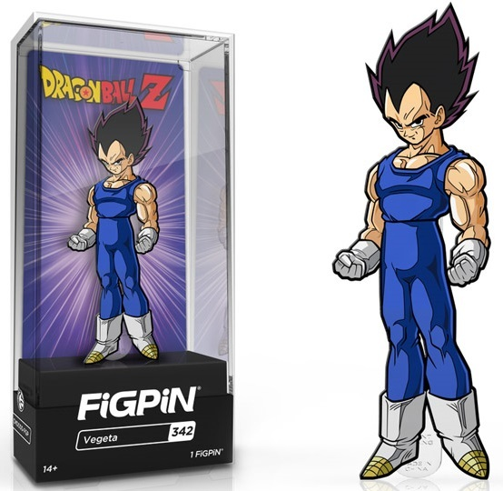 Dragon Ball Z: Vegeta (#342) - Collectors FiGPiN