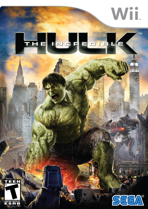 The Incredible Hulk for Nintendo Wii