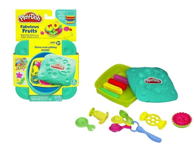 play doh favourite food kit fabulous fruits toy at mighty ape nz. Black Bedroom Furniture Sets. Home Design Ideas