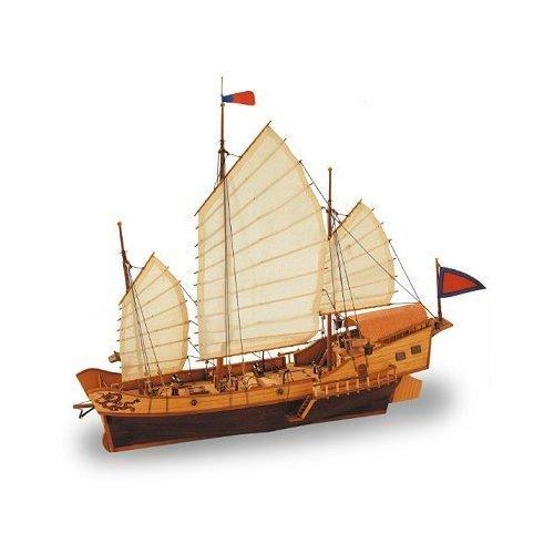 Artesania Latina Red Dragon Chinese Junk 1:60 Wooden Model Kit