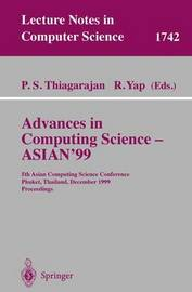 Advances in Computing Science - ASIAN'99