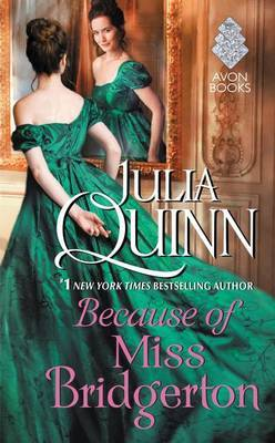 Because of Miss Bridgerton by Julia Quinn image