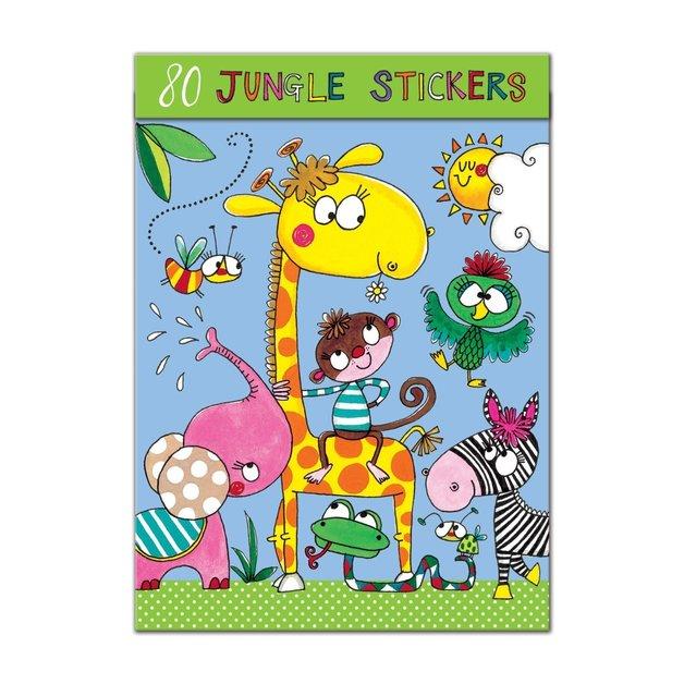Rachel Ellen: Sticker Book - Jungle