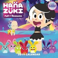 Hanazuki 2019 Wall Calendar by Hasbro, Inc.