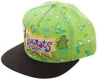Rugrats: Sublimated Snapback Cap - with Lapel Pins