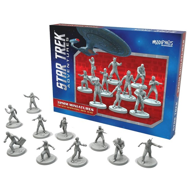 Star Trek Adventures Miniatures: Away Team